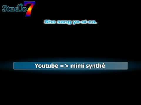 yesica - secret service karaoke no voice