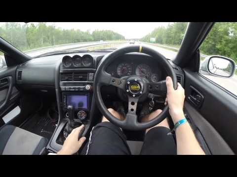 POV - Nissan Skyline R34 GTT Highway run