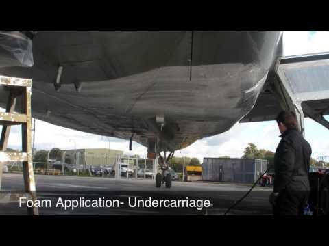 Rhinowash Aircraft Wash System Equipment
