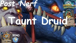 Hearthstone: Master Oakheart Taunt Druid Post-Nerf #7: Witchwood (Bosque das Bruxas) - Standard