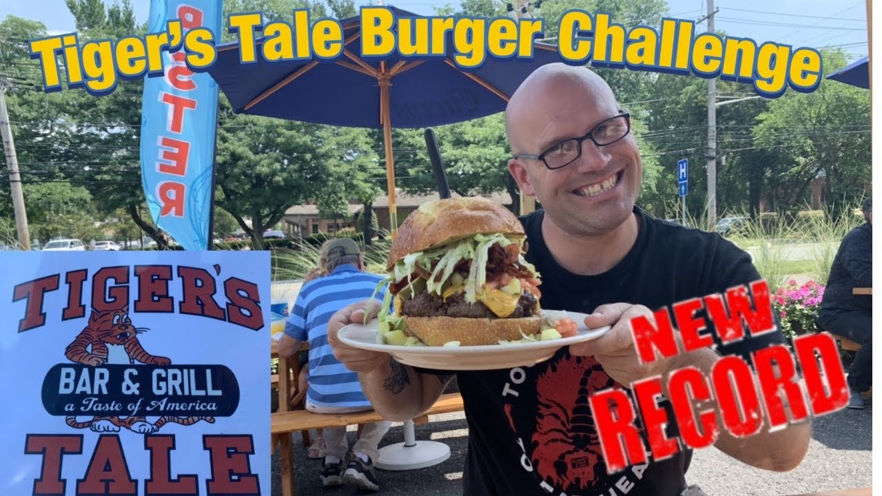 Tiger's Tale Ultimate Burger Challenge in New Jersey