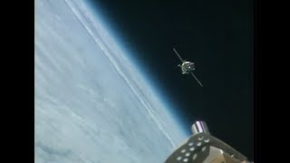 Expedition 37/38 Crew Docks to the Space Station