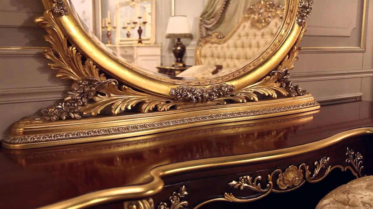 new collections luxury classic furnishing vimercati youtube. Black Bedroom Furniture Sets. Home Design Ideas