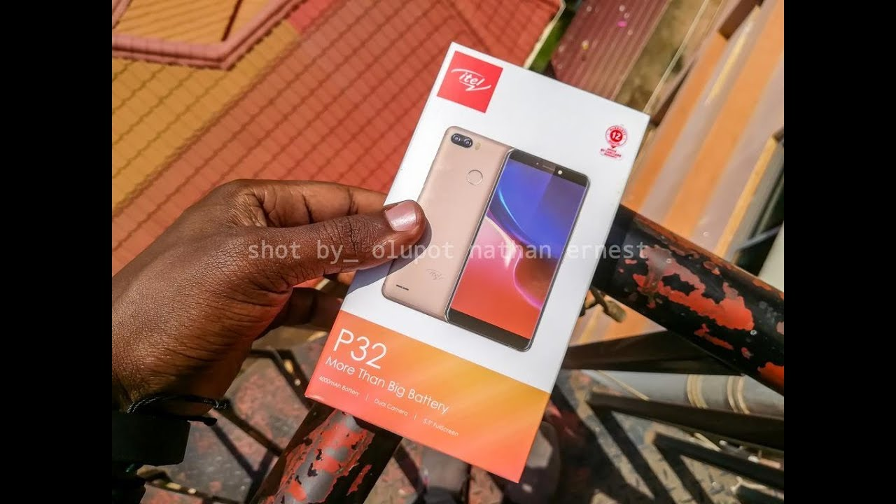 Unboxing and Quick Review of the itel P32: First itel