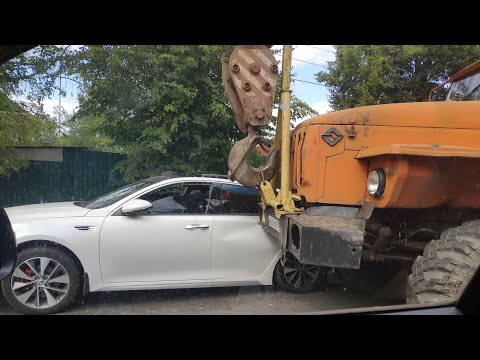 ДТП возле переезда, Дедовск, 30.07.2019 Последствия.