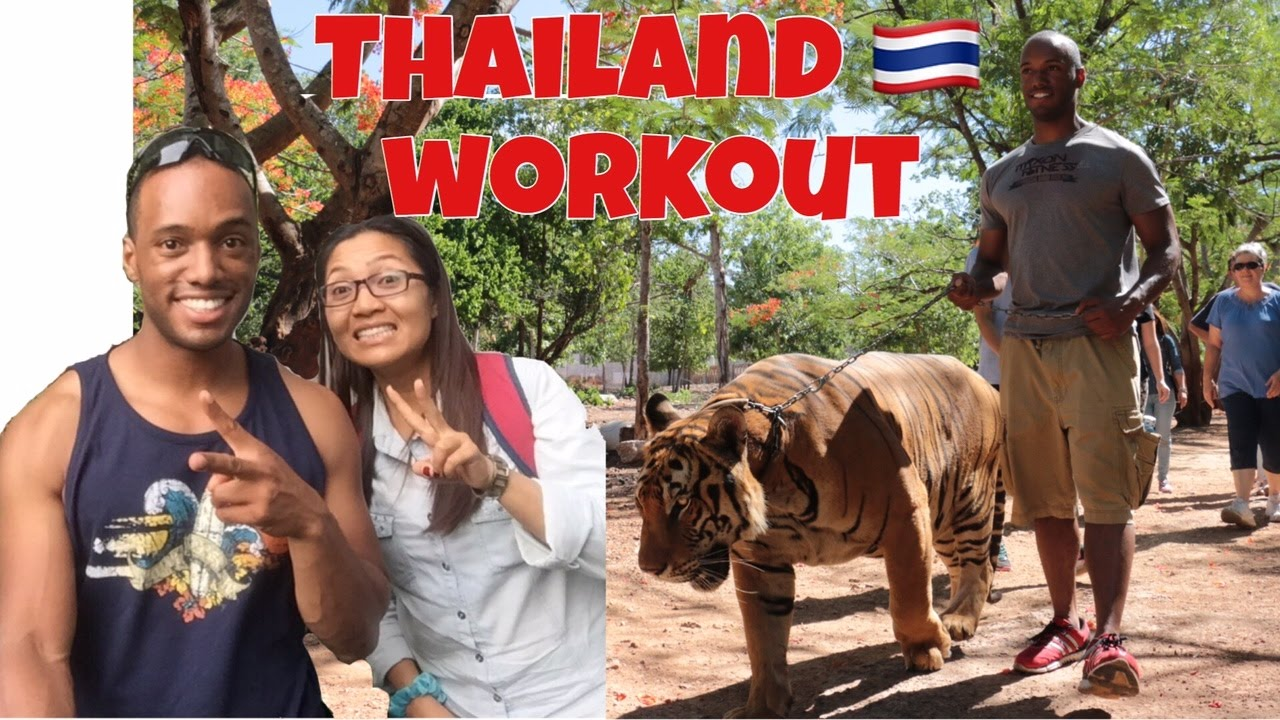 Quick Full Body Workout Thailand Style : Fat Burning Fun on Vacation