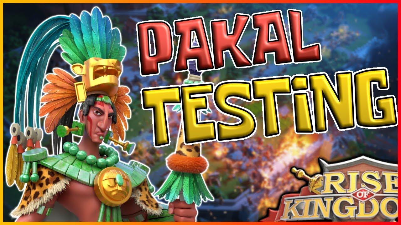 Download PAKAL FULL TESTING & ANALYSIS: New Meta? [With Reports] - Rise of Kingdoms