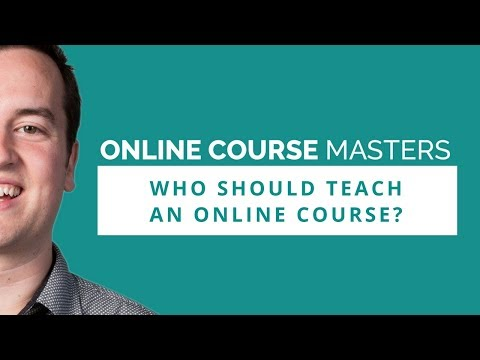 Who Should Teach Online Courses? | OCM 56