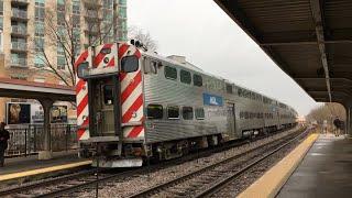 シカゴの通勤鉄道メトラ、UP-N線(Union Pacific District North Line、...