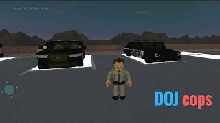 Roblox DOJ #1 (Law Enforcement) WTF