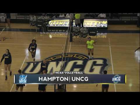 UNCG Volleyball vs. Hampton