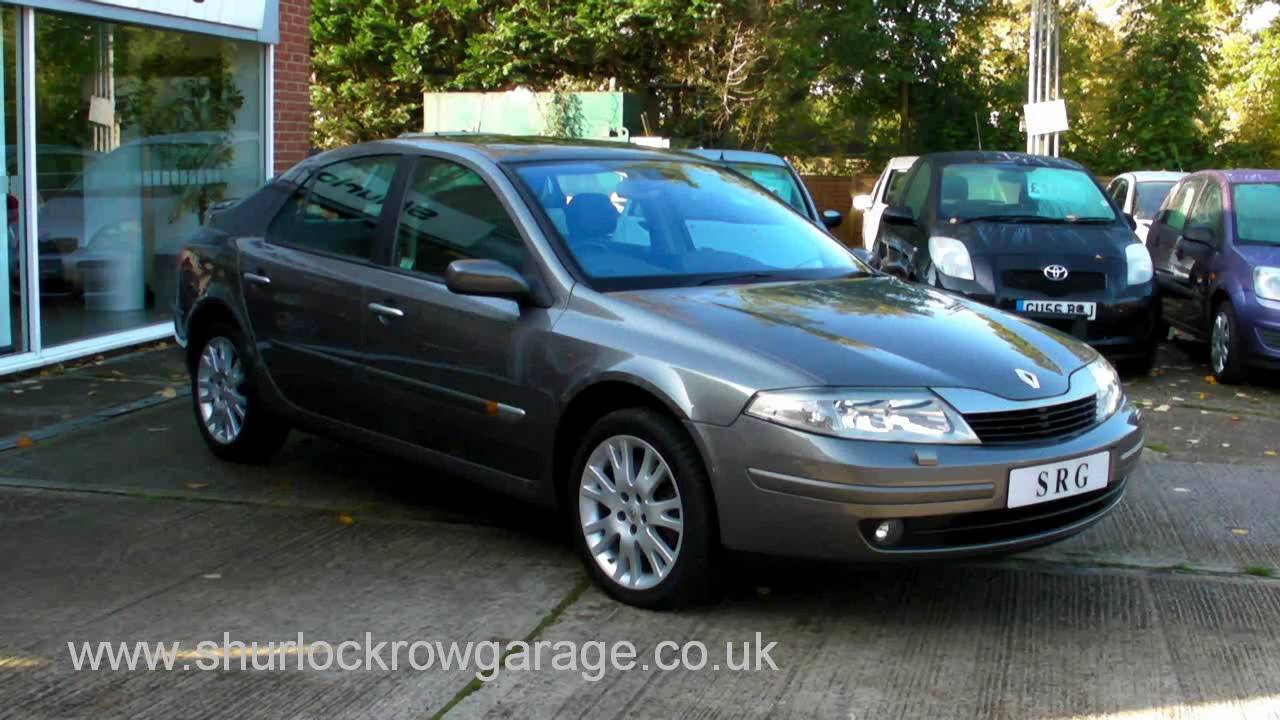 renault laguna 2 2 dci diesel automatic initiale 5dr hatchback for sale youtube. Black Bedroom Furniture Sets. Home Design Ideas