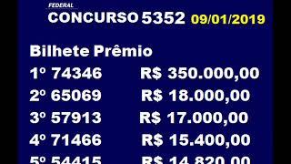 Download Video LOTERIA FEDERAL EXTRAÇÃO 5352  09012019 MP3 3GP MP4