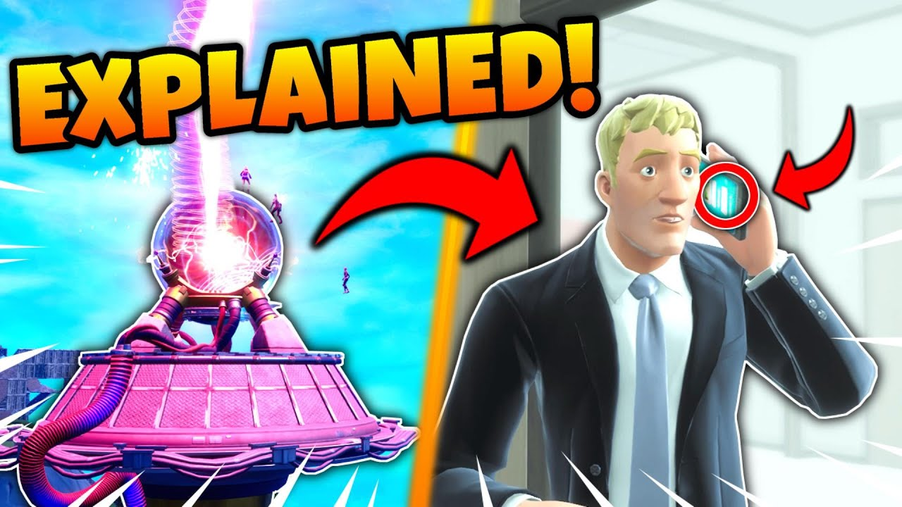 What just happened during the Fortnite event?