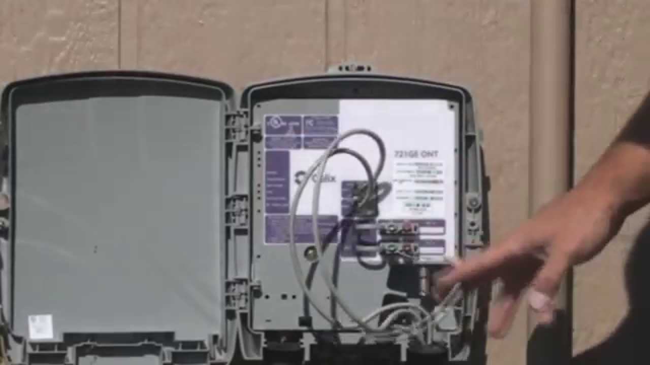 Cable Modem Diagram 2000 Jeep Grand Cherokee Audio Wiring How To Check Your Ont (optical Network Terminal) - Youtube
