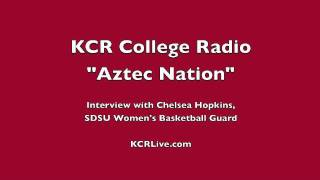 """Aztec Nation"" on KCR College Radio: Chelsea Hopkins Interview"