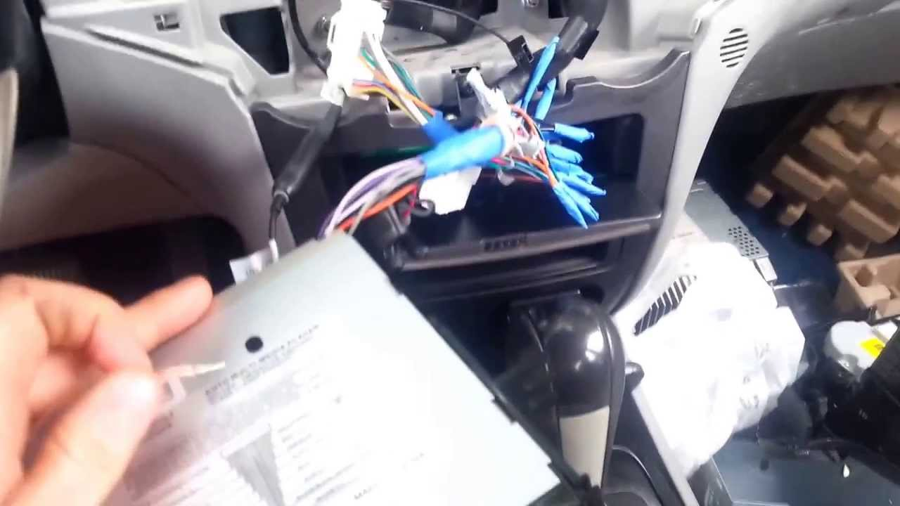 How to install a radio on a Kia optima 2007 YouTube – Kia Optima Wiring Harnes