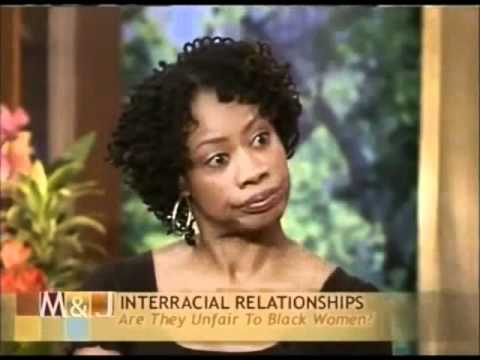 Interracial Dating Unfair to Black Women. Black women getting mad