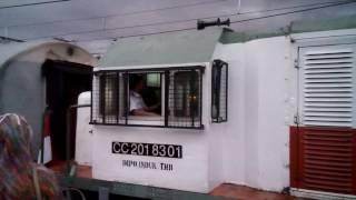 Keberangkatan Kereta Api Lokal Rangkasbitung dari Stasiun Duri Jakarta