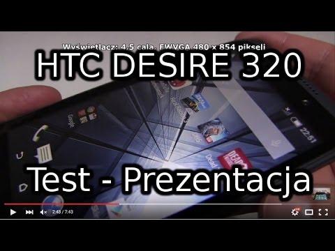 HTC Desire 320 Test - Prezentacja