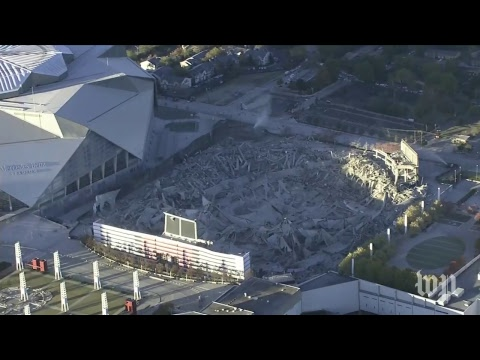 Download Youtube: Georgia Dome implodes