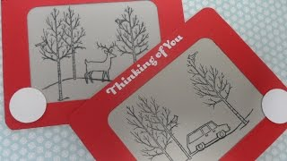 etch a sketch card
