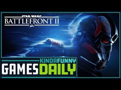Battlefront 2 vs. the Internet - Kinda Funny Games Daily 11.13.17