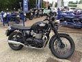 2015 Triumph Bonneville T100 Black Test Ride & Review