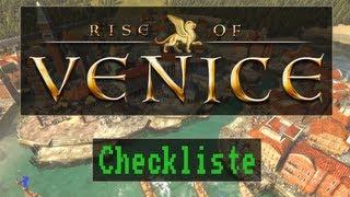 Checkliste: Rise of Venice [ Test / Gameplay / Deutsch / Full HD / PC ]
