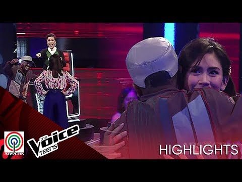 Furious Coach Sarah blocked by Coach APL on first blind audition | The Voice Teens Philippines 2020