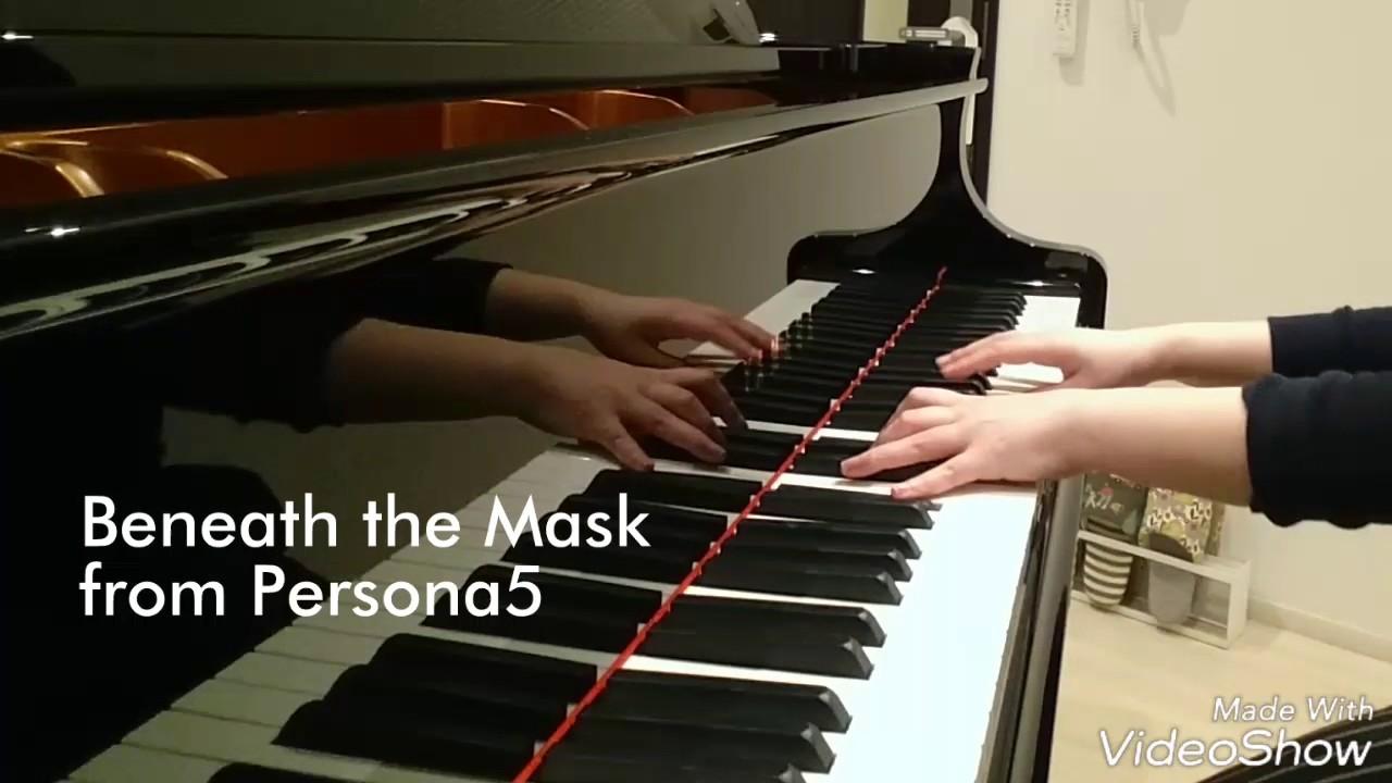 beneath-the-mask-piano-arrangepersona5-kawabe-asahi