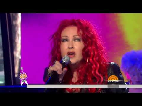 Cyndi Lauper  Time After Time 2013 Today show