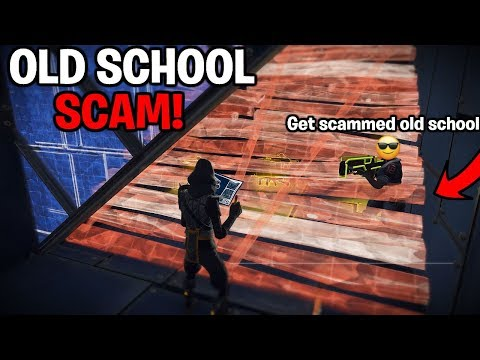 Dumb Scammer Gets Scammed Old School! Loses loads of 130's - Fortnite Save The World