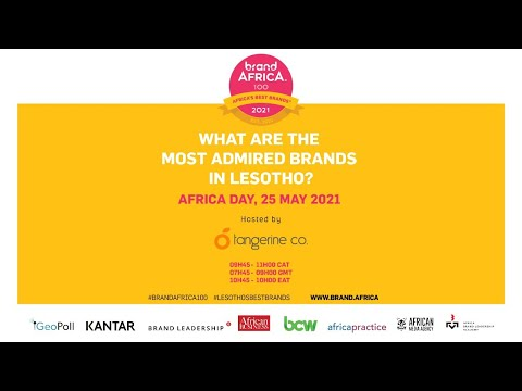 Brand Africa 2021: Most Admired Brands in Lesotho