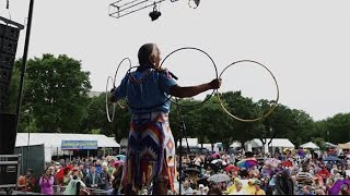 Native Hoop Dance by Kevin Locke