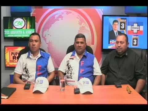 LA ENTREVISTA NEFTALI NAVARRETE Y LIC. OSCAR MUÑOZ FRATERNIDAD PATRIOTA SALVADOREÑA
