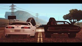 Fast & Furious 7. Финальная сцена (SA:MP)
