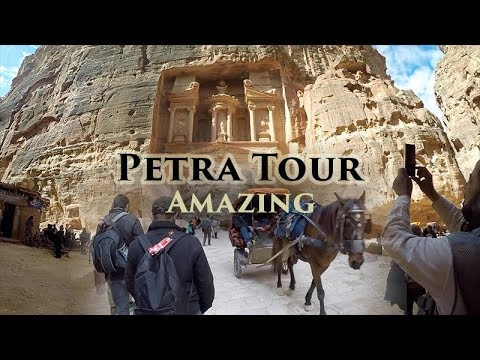 Petra Tour. The city of Petra is regarded as one of the wonders of the world