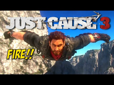 THEY BOUT TO GET HIT WITH THE RICO!! [JUST CAUSE 3] [GAMEPLAY!]
