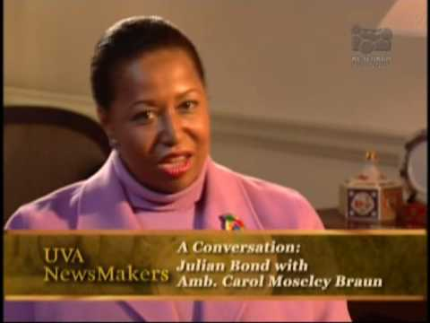 Explorations in Black Leadership: Carol Moseley Braun - YouTube