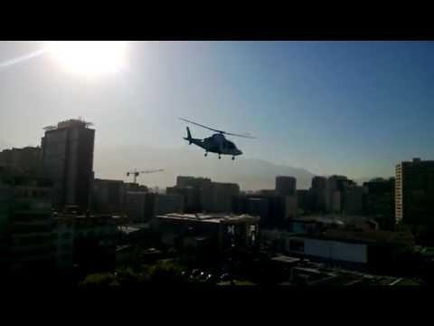 Agusta Westland AW-109 Carabineros de Chile. Despegue HUAP