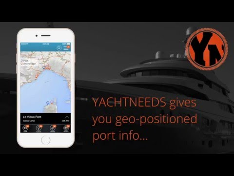YachtNeeds mobile app for the superyacht community