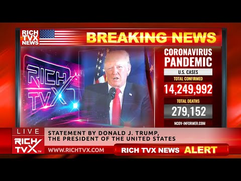 Breaking News: Statement by Donald J. Trump, The President of the United States – Rich TVX News