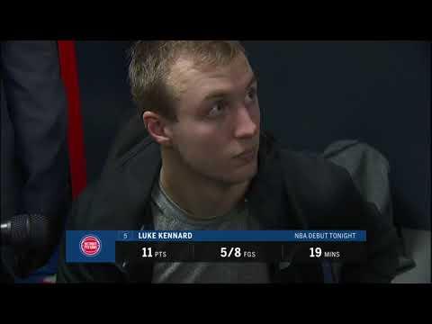 Pistons LIVE Postgame 10.20.17: Luke Kennard