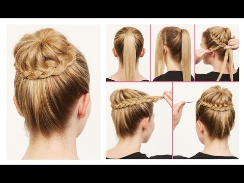 beautiful hair style step by step beautiful easy hairstyles step by step beautiful 5621