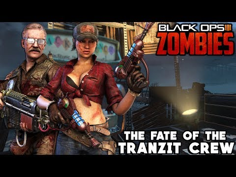 The Fate Of The Tranzit Crew After Blood Of The Dead (Black Ops 4 Zombies Easter Egg Storyline)