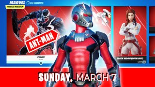 *NEW* ANT-MAN Shop, MARVEL Skins \u0026 Beast Mode returns after 267 days *ITEM SHOP* - March 7