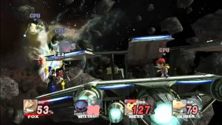 Wanted Music for Super Smash Bros. 4 - Asteroid Belt (The Aparoid Menace)