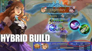 GUINEVERE PAKAI BUILD HYBRID JADI THE REAL FIGHTER MAGE YANG SUPER SADIS DAMAGENYA!