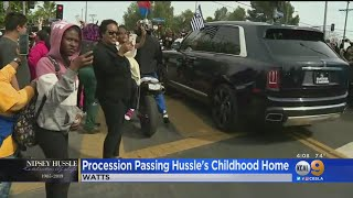 Procession Passes Hussle